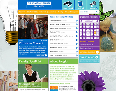 The St. Michael School of Clayton Website