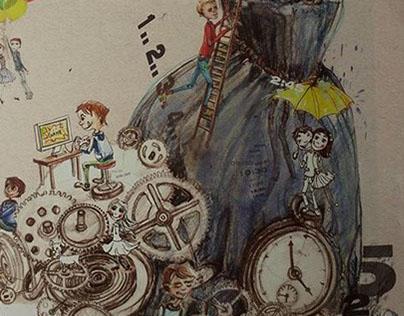 illustration for a childrens magazine/ 2014 summer/23