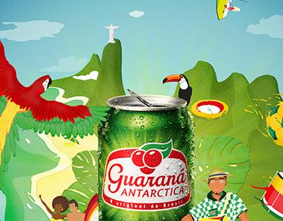 Guaraná Antarctica - Energia que Contagia