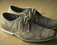 When It Rains – Typographic Shoes