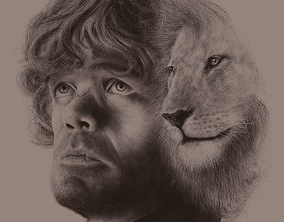 A Game of Thrones Portrait Series