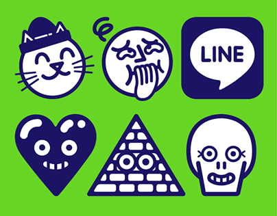 Line APP — 150 expressions sticons