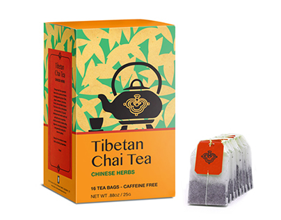 Tibetan Chai Tea Packaging