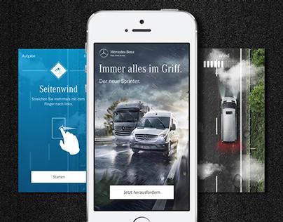 Mercedes-Benz: Challenge The Sprinter
