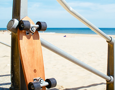 Mahogany Skateboard