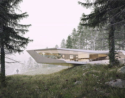 SLOVAKIA - ALONE IN THE FOREST - RESIDENCE