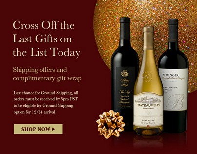 Cellar360 Holiday Web Promotion