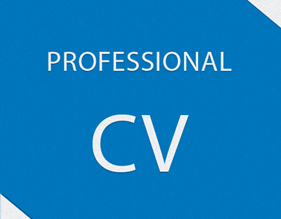 Professional CV ( Resume )