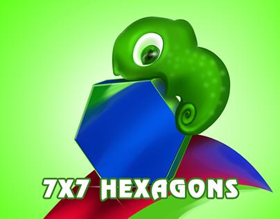 7x7 HEXAGONS