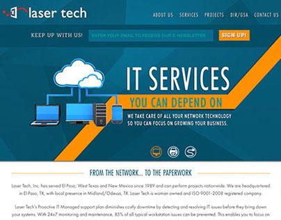 Web: Laser Tech - Responsive