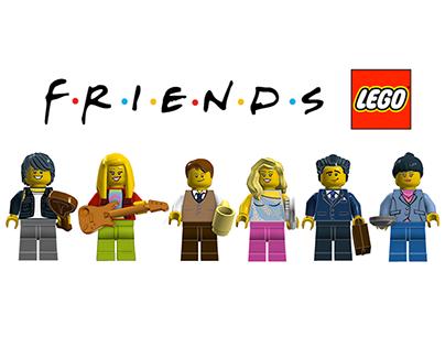 Lego Ideas - FRIENDS : Monica and Rachels Apartment