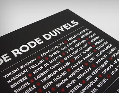 De Rode Duivels - pocketbook