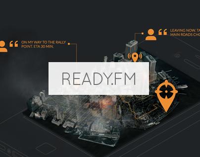 Ready.FM | Branding, Service Design, App & Web Design