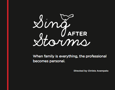 Sing After Storms - A new play