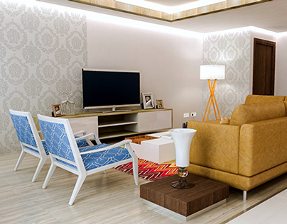 A Small Flat Interior