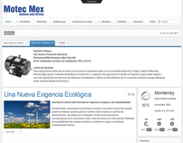 Re-Diseño de Pagina Web Motec Mex