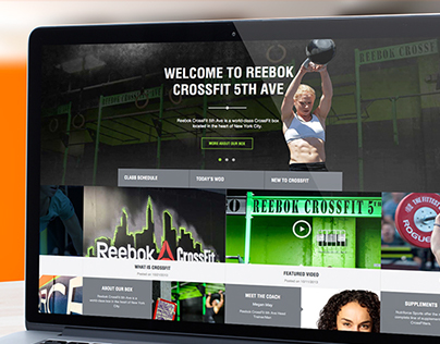 Reebok CrossFit 5th Avenue Website