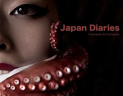 Poster and Catalogue for Japan Diaries