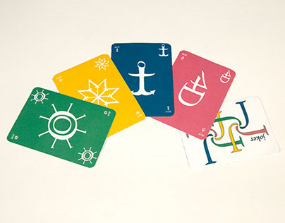 Brioso Pro Typographic Playing Cards