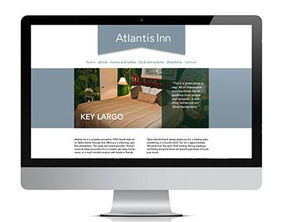 Atlantis Inn Website Redesign