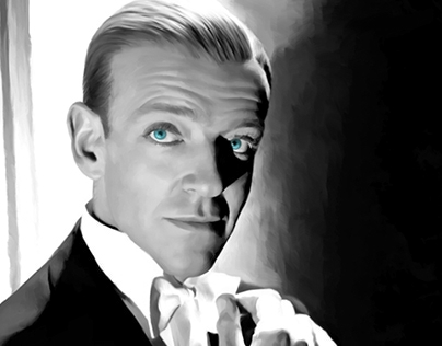 Fred Astaire Portrait