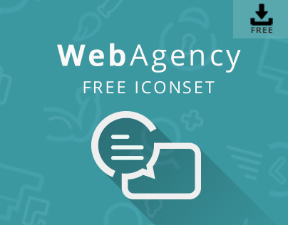 WebAgency Free Icon Set | Icons & Web