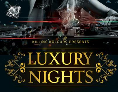 VIP / Luxury Party Flyer
