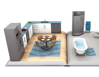 HomeWater 101 - Home Illustration