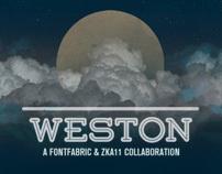 Weston free font