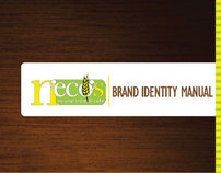 Brand Manual: Necos, Natural Store & Cafe