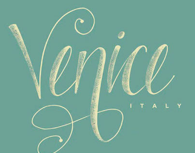 Italy Hand Lettering Set