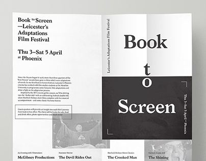 Book to Screen