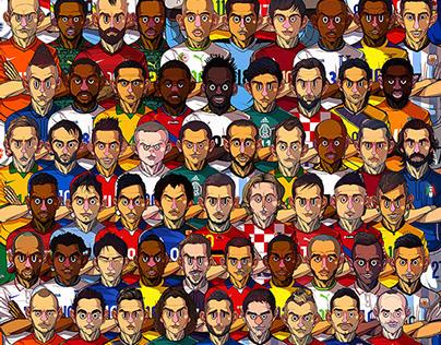 2014 Brazil World Cup 32 teams
