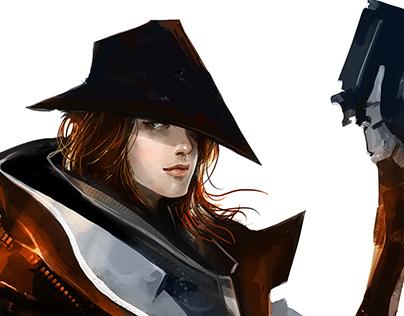 Pew Pew Spy Gun Girl