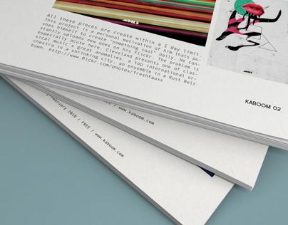 KABOOM / Visual Arts Magazine