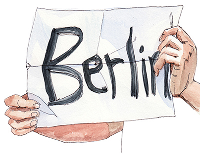 Hitchhike to Berlin