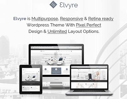 Elvyre Retina Ready Business WordPress Theme