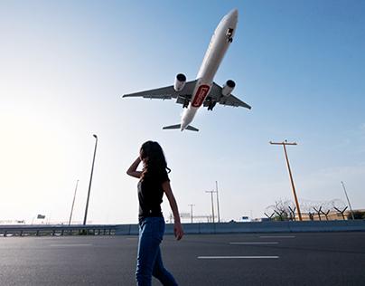 Airplanes Photo Shoot - Emirates