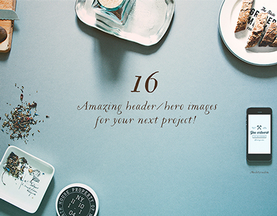 16 Hero/Header images