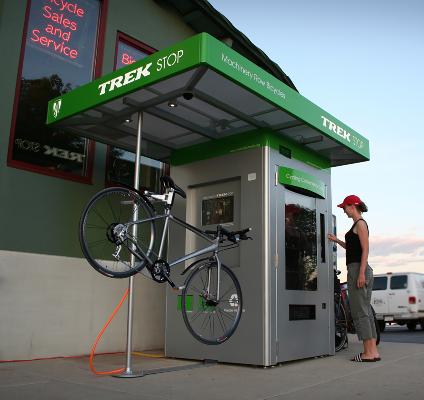 Trek Stop: Cycling Convenience Center (Prototype)