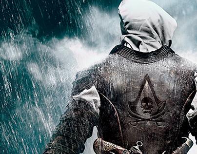 Assassins Creed IV Black Flag Concept Posters