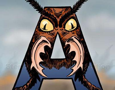 Illustrated Movie Monster Alphabet