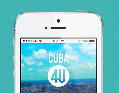 App - Cuba 4U