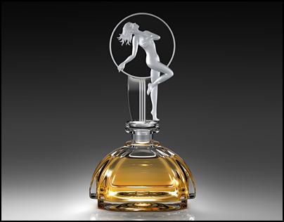 3D CGI Perfume Bottles