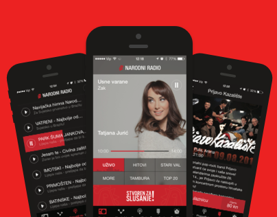 Narodni radio - iOS & Android app