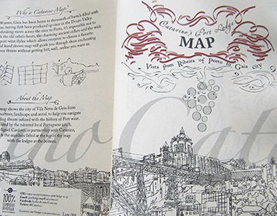 Catavino´s Port Lodge Map