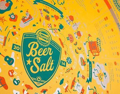 Beer Salt Calendar