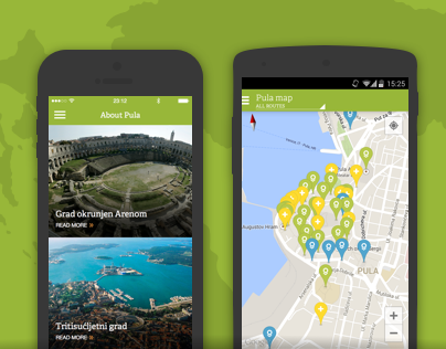 Pula+ Heritage Tour - iOS & Android app