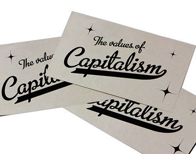 The Values of Capitalism Flashcards