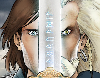 Angrvadil: Book illustration